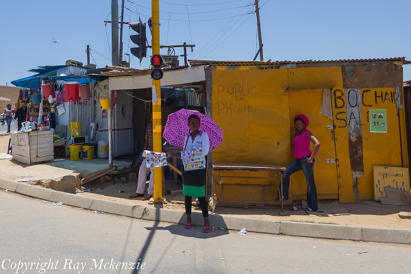 Corner shops in South Africa