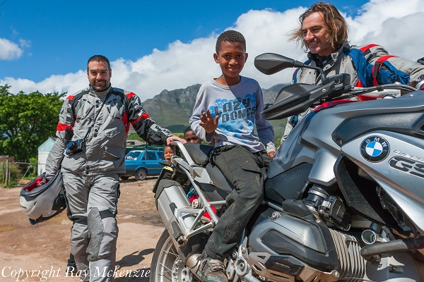 South Africa Day 3 - with Neale Bayly and Anthony Carrino with the BMW R1200GS Shanty Town 2