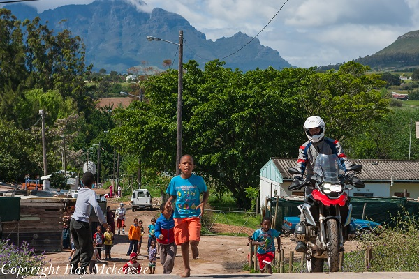 South Africa Day 3 - with Neale Bayly and Anthony Carrino with the BMW R1200GS Shanty Town 4