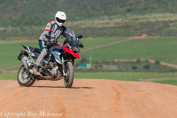 South Africa Day 3 - with Neale Bayly and Anthony Carrino with the BMW R1200GS sliding in Vineyards 3