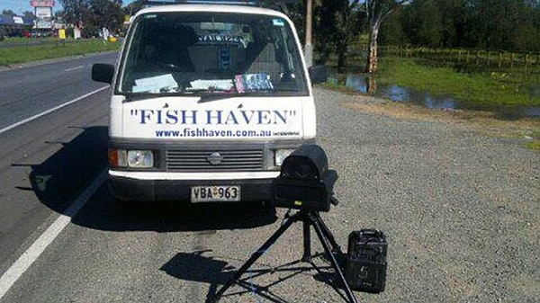 South African Speed Camera