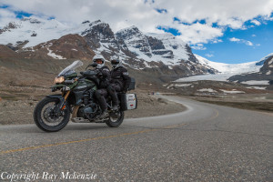 Neale Bayly with Ray Mckenzie Alaska Adventure on Triumph Motorcycles 1