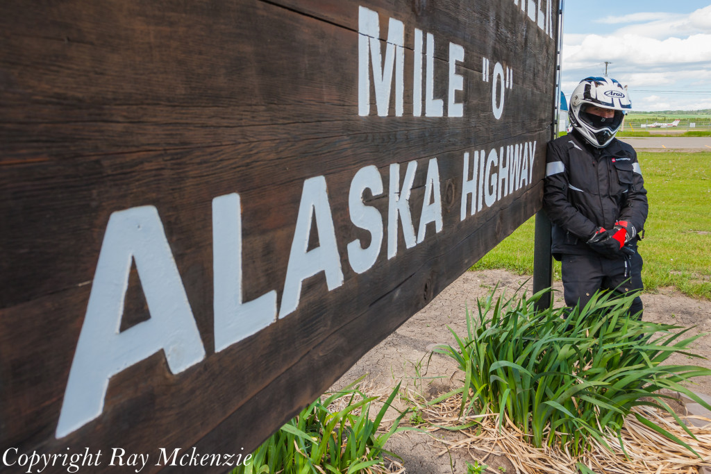 Neale Bayly with Ray Mckenzie Alaska Adventure on Triumph Motorcycles 3