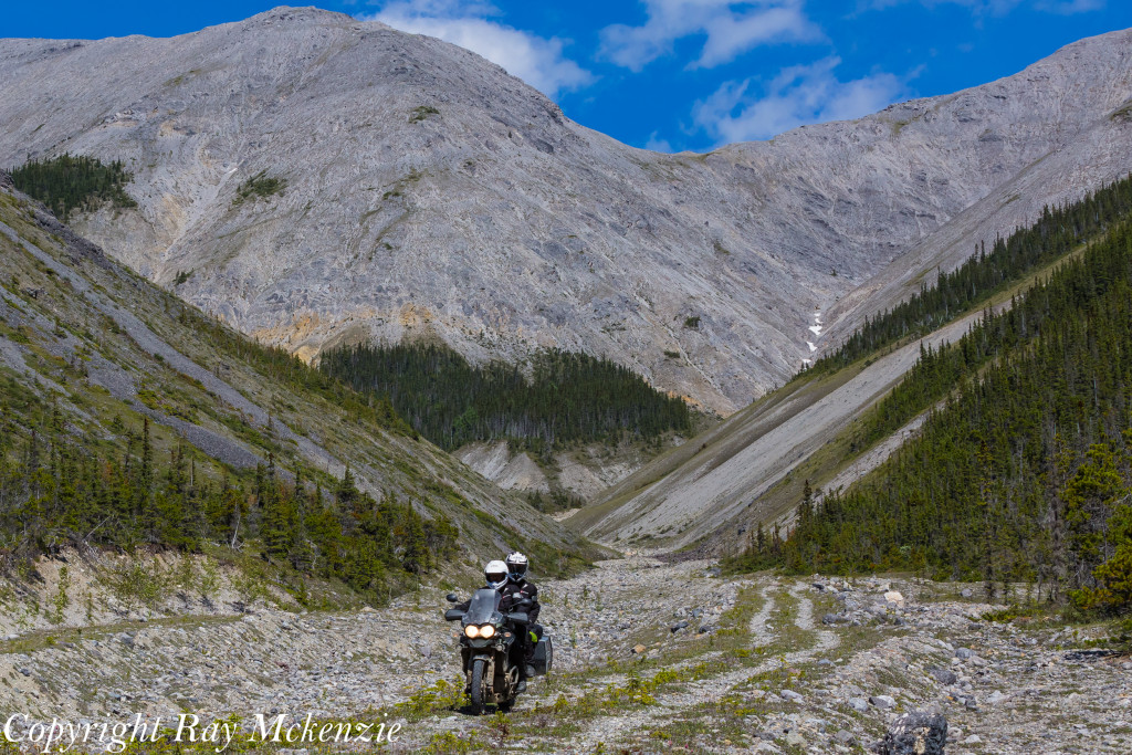 Neale Bayly with Ray Mckenzie Alaska Adventure on Triumph Motorcycles Off Road 2